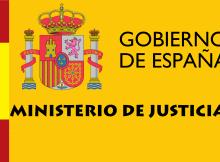 Sede electrónica del Ministerio de Justicia