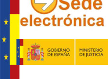 COMO VA LO MIO - SEDE ELECTRONICA MINISTERIO DE JUSTICIA