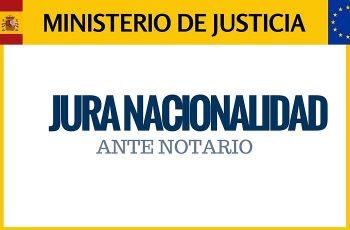 JURA NACIONALIDAD ANTE NOTARIO